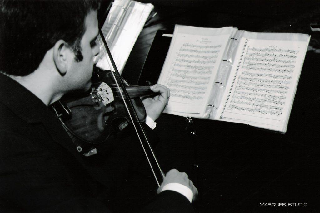 violino para casamento